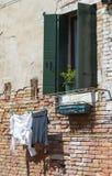 παράθυρο της Βενετίας Στοκ Φωτογραφία