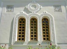 Παράθυρο της εκκλησίας σε Livadia Στοκ φωτογραφίες με δικαίωμα ελεύθερης χρήσης