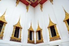 παράθυρο της Ταϊλάνδης ναών Στοκ φωτογραφίες με δικαίωμα ελεύθερης χρήσης