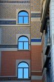 Παράθυρο τοίχων   κέντρο   από την πόλη Λουγκάνο Ελβετία Στοκ φωτογραφία με δικαίωμα ελεύθερης χρήσης