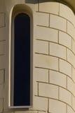 παράθυρο τοίχων σπιτιών Στοκ Εικόνες