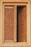 Παράθυρο του βουδιστικού ναού Στοκ φωτογραφία με δικαίωμα ελεύθερης χρήσης