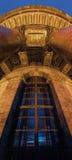 Παράθυρο του καθεδρικού ναού Αγίου Isaac Στοκ Εικόνες
