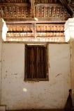 Παράθυρο του παλαιού μουσουλμανικού τεμένους Pengkalan Kakap σε Merbok, Kedah Στοκ Εικόνες