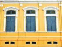 παράθυρο τρία Στοκ Φωτογραφίες