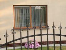 παράθυρο φραγών επεξεργ&alph Στοκ Εικόνες