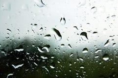 παράθυρο ύδατος βροχής Στοκ εικόνες με δικαίωμα ελεύθερης χρήσης