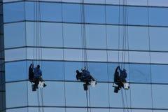 παράθυρο 3 πλυντηρίων Στοκ Εικόνα