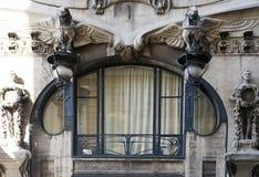 παράθυρο deco τέχνης Στοκ Εικόνες