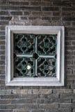 Παράθυρο Tai Fu Tai στο προγονικό σπίτι, Χονγκ Κονγκ Κίνα στοκ εικόνες