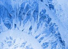 παράθυρο tracery πάγου Στοκ Εικόνα