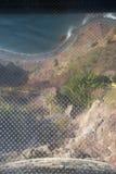 Παράκτια άποψη από Cabo Girao, Μαδέρα στοκ φωτογραφία