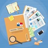 Παράκτια έγγραφα Folder Documents Company ιδιοκτήτες επιχειρηματιών Στοκ φωτογραφίες με δικαίωμα ελεύθερης χρήσης