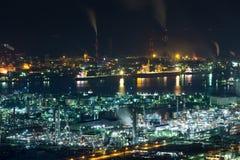 Παράκτια βιομηχανική περιοχή Mizushima στην Ιαπωνία Στοκ φωτογραφία με δικαίωμα ελεύθερης χρήσης