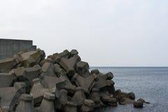 Παράκτια γραμμή Shakotan Στοκ φωτογραφία με δικαίωμα ελεύθερης χρήσης