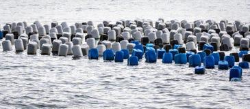 Παράκτια θάλασσα σταδιοδρομίας αλιείας Στοκ φωτογραφία με δικαίωμα ελεύθερης χρήσης