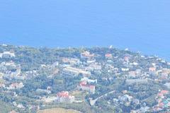 Παράκτια θέρετρα της Κριμαίας Στοκ εικόνα με δικαίωμα ελεύθερης χρήσης