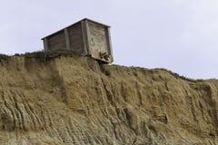 Παράκτια δομή απότομων βράχων Στοκ φωτογραφία με δικαίωμα ελεύθερης χρήσης
