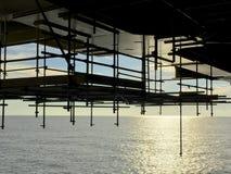 παράκτια πετρέλαιο βιομηχανίας φ&upsilo Στοκ Εικόνες