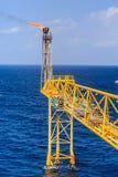 Παράκτια πετρέλαιο και φυσικό αέριο βιομηχανίας Στοκ Φωτογραφία