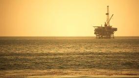 Παράκτια πλατφόρμα διατρήσεων πλατφορμών άντλησης πετρελαίου - Pacific Coast φιλμ μικρού μήκους