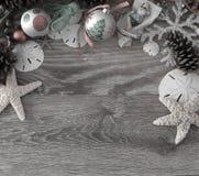 Παράκτια Χριστούγεννα Στοκ Φωτογραφίες