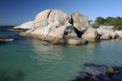 παράκτιοι βράχοι λιμνών Στοκ Εικόνες
