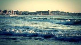 Παράκτιος (Ισπανία, Κόστα Μπράβα) απόθεμα βίντεο