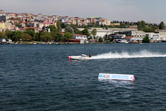 παράκτιος κόσμος της Κωνσταντινούπολης πρωταθλήματος Στοκ Φωτογραφία