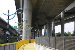 Παράκτιο έργο τέχνης τρόπων ποταμών Milers Στοκ φωτογραφία με δικαίωμα ελεύθερης χρήσης