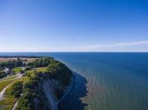 Παράκτιο τοπίο σε Kap Arkona στη θάλασσα της Βαλτικής νησιών Ruegen Στοκ φωτογραφίες με δικαίωμα ελεύθερης χρήσης