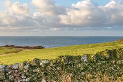 Παράκτιο τοπίο του Isle of Wight Στοκ Φωτογραφία