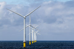 Παράκτιο Windfarm Στοκ εικόνα με δικαίωμα ελεύθερης χρήσης