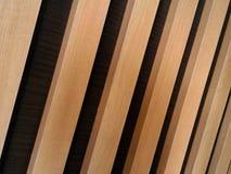 Παράλληλες ξύλινες γραμμές Στοκ φωτογραφία με δικαίωμα ελεύθερης χρήσης