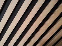 Παράλληλο σχέδιο τοίχων ξύλων Στοκ Εικόνα