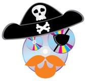 παράνομος πειρατής δίσκων Cd dvd απεικόνιση αποθεμάτων