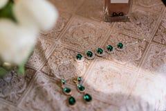 Παράνυμφος γαμήλιου κοσμήματος Στοκ φωτογραφίες με δικαίωμα ελεύθερης χρήσης