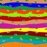 παράξενα λωρίδες Στοκ φωτογραφίες με δικαίωμα ελεύθερης χρήσης