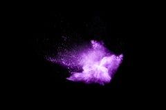 Παράξενες μορφές σκόνης που χρωματίζονται στοκ φωτογραφίες με δικαίωμα ελεύθερης χρήσης