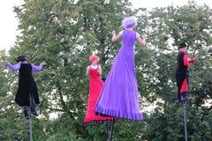 Παράξενοι καλλιτέχνες φρούτων (Αυστραλία) στο φεστιβάλ Στοκ φωτογραφία με δικαίωμα ελεύθερης χρήσης