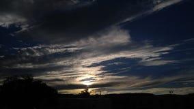 Παράξενοι ουρανοί Στοκ φωτογραφία με δικαίωμα ελεύθερης χρήσης