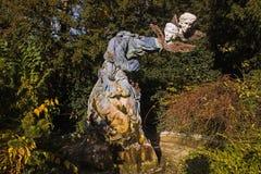 Παράξενο μνημείο στο Στρασβούργο Στοκ Εικόνες