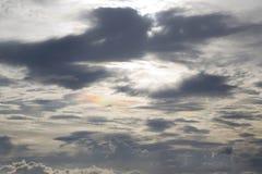 Παράξενο ουράνιο τόξο στο SK Στοκ εικόνα με δικαίωμα ελεύθερης χρήσης