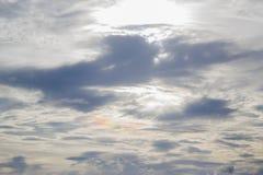Παράξενο ουράνιο τόξο στο SK Στοκ φωτογραφία με δικαίωμα ελεύθερης χρήσης