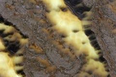 Παράξενο σχεδίων και γης υλικό πετρών τόνων ανώτερο φυσικό με τα θαυμάσια σχέδια Στοκ εικόνα με δικαίωμα ελεύθερης χρήσης