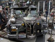 Παράξενο φορτηγό στο φεστιβάλ Στοκ φωτογραφία με δικαίωμα ελεύθερης χρήσης