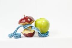 Παράδειγμα αποτελέσματος απώλειας βάρους μέτρου ταινιών της Apple Στοκ Φωτογραφίες
