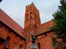 Παράδειγμα του μεσαιωνικού φρουρίου Στοκ εικόνα με δικαίωμα ελεύθερης χρήσης