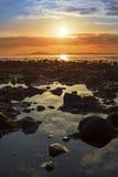 Παράδεισος στη δύσκολη beal παραλία Στοκ εικόνα με δικαίωμα ελεύθερης χρήσης