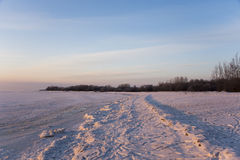 Παράδεισος χιονιού Στοκ εικόνες με δικαίωμα ελεύθερης χρήσης